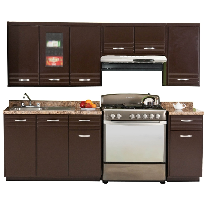 Cocina Viena Estilo Contemporáneo Color Chocolate - Famsa.com®